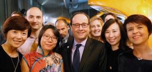 巴黎HEC新闻: 与法国总统共度的时刻成为了我们美妙绝伦的记忆