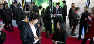 HEC Paris news: HEC Career Fair Seen as Roaring Success by Students and Companies