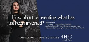 HEC Paris news: TOMORROW IS OUR NEW BUSINESS—HEC Paris' new brand campaign