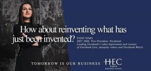 HEC Paris news: TOMORROW IS OUR NEW BUSINESS—HEC Paris' new brand campaign