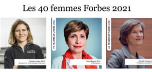 """巴黎HEC新闻: 新闻   三位HEC校友跻身福布斯评选""""法国最具影响力的40位女性""""之列"""