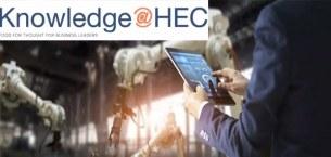 巴黎HEC新闻: 学术分享 | 虚拟现实让工人与机器人共事时感觉更安全