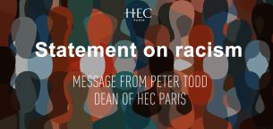 巴黎HEC新闻: 新闻 HEC院长Peter Todd发表关于种族主义的声明