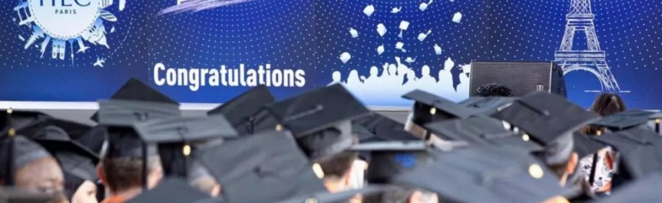 HEC Paris news: Commencement Ceremony  Bravo and congratulations to all!